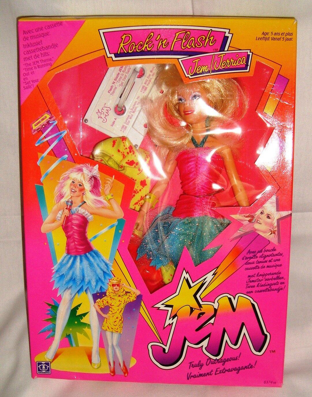 Rare poupée doll Jem   Jerrica Figurine Figurine Figurine Jem et les hologrammes 1984 hasbro boxed b63f93
