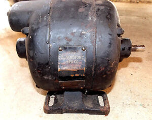 Image Is Loading Antique Electric Motor Blackstone Manufacturing Co 110v 1