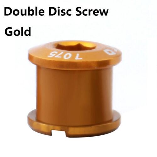 Tool Crank For Chainwheel Brake Crankset Bolt 7075 Aluminum Alloy M8 Disc Screw