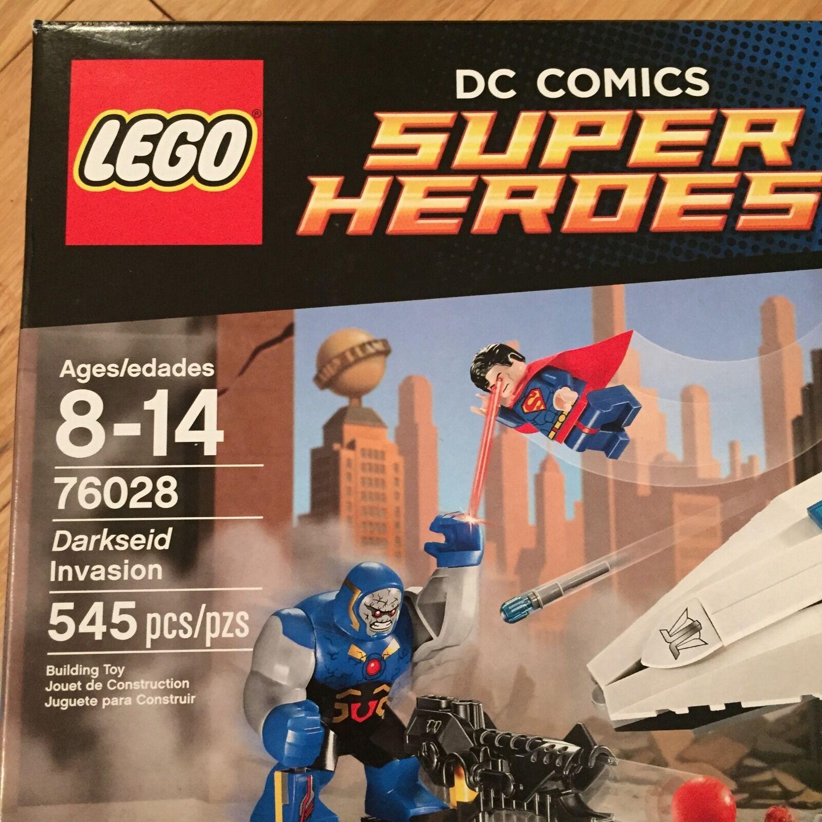 Lego 76028 Darkseid Invasion - - - Superman Justice League DC Comics Set Toys Cyborg 00fb08