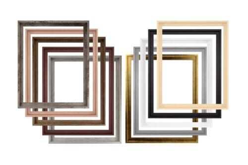 MDF-Schattenfugenrahmen ASTURIEN 55 x 70 cm Leerrahmen mit Farbwahl