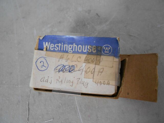 500 Amp Rating Plug for LC3600F Breaker Westinghouse 6LC500