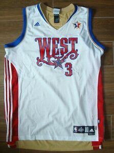 newest e017e be8dc Details about NBA ALL STAR 2008 ALLEN IVERSON ADIDAS JERSEY 2XL/NEW  ORLEANS/NUGGETS