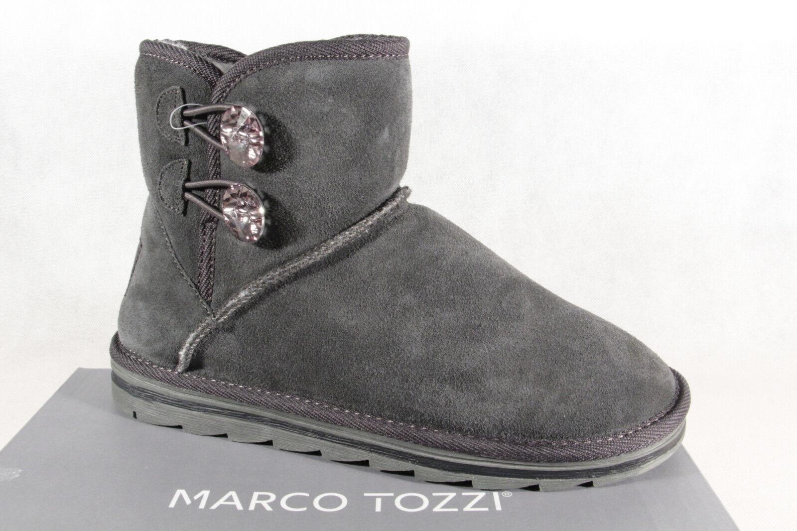 Marco Winterstiefel Tozzi Stiefel Stiefelette Boots Winterstiefel Marco grau 26822 NEU 0959a0