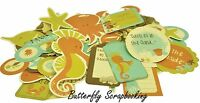 Rock Pool Sea Friends Collectables Scrapbooking 50 Pc Die Cuts Kaisercraft