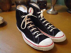 8a44553afa162 Details about 1945 1950 era vintage old antique basketball rocket ship  shoes sneakers 6
