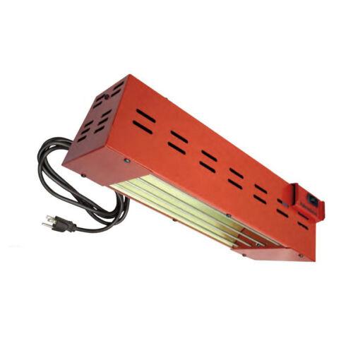 Fahrenheat FRR10512B 110v Plug-in Quartz Element Infrared Radiant Shop Heater
