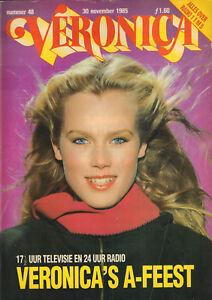 VERONICA-1985-nr-48-ALI-MACGRAW-GIL-GERARD-GRACE-JONES-KELLY-LEBROCK