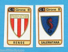 PANINI CALCIATORI 1983/84 -Figurina n.518- RENDE+SALERNITANA - SCUDETTO -Rec