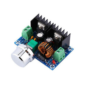 DC-DC Buck Converter 5V-40V to 1.2-36V Adjustable Step Down Power Module J&C