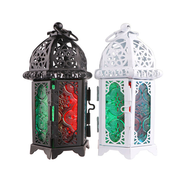 New Hollow Holder Tealight Candlestick Hanging Lantern Vintage Bird Cage Wrought