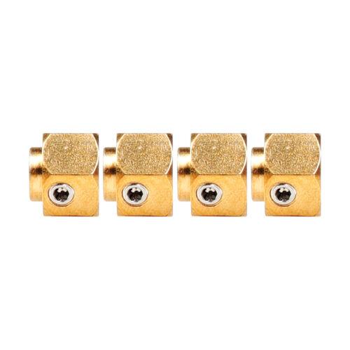 Brass 6//8//10//11//12mm Thick 12mm Wheel hex Hubs For 1:10 RC Traxxas TRX-4 Crawler