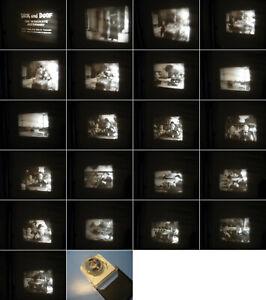 8-mm-Film-Dick-u-Doof-Autofah-Stanley-amp-Laurel-Comics-Slapstik-Antique-8-mm-Films