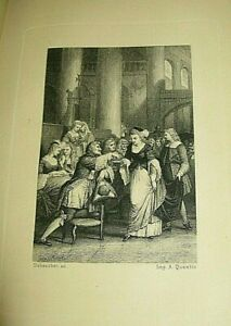ANTOINE-FURETIERE-LE-ROMAN-BOURGEOIS-1880-Illustre-DUBOUCHET-ED-QUANTIN-SATIRE