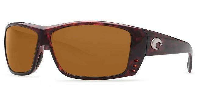 New Costa Del Mar Cat Cay Polarized Sunglasses 580P Tortoise Copper Fishing NB