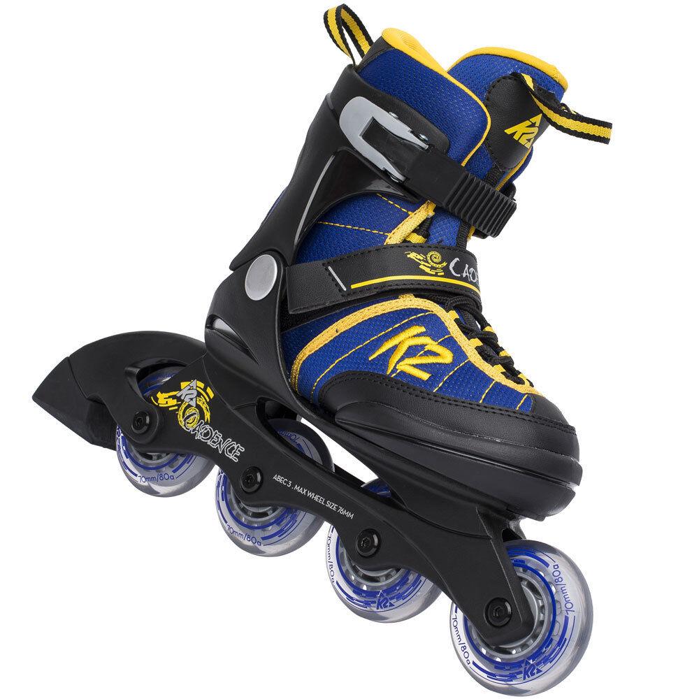 K2 Junior Inline Skates Größenverstellbar Kinder Inlineskates Inliner Kids Skate Größenverstellbar Skates e33f4c