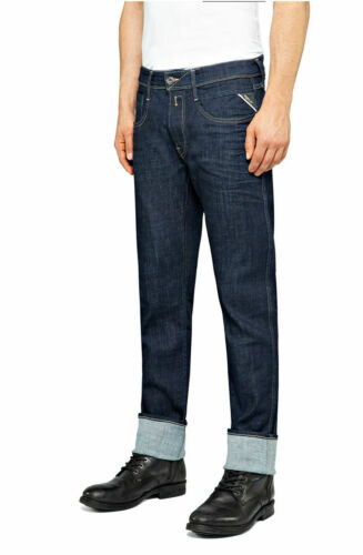 """Kollektion 141 Rinse REPLAY Jeans ANBASS M914Y Skinny Jeans /""""0 Year aged/"""""""