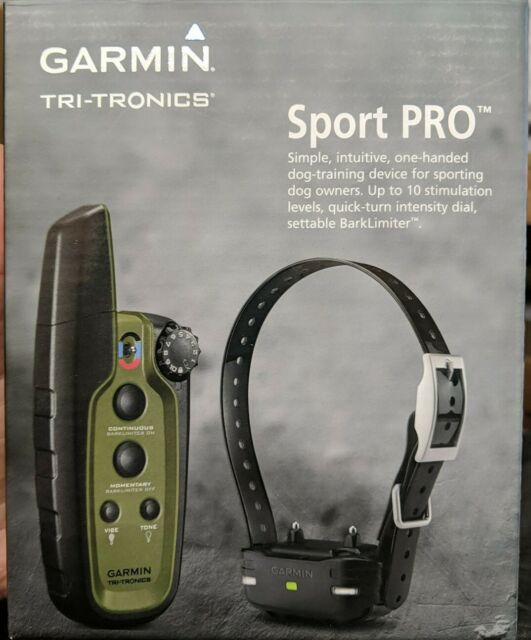 Garmin 010-01205-00 Sport Pro Bundle Dog Training Device - New!!!