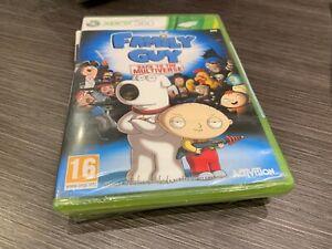 Family Guy Vater Familie Xbox 360 Versiegelt Neu Verschlossen IN Spanisch