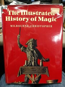 The-Illustrated-History-of-Magic-Milbourne-Christopher-1973-First-Edition-HC-DJ