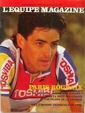 l'Equipe magazine n°404 - 1989 - Marc Madiot - Bernard Gili - Paris Roubaix -