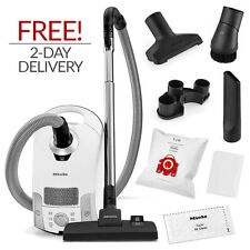 Miele Compact C1 Pure Suction Canister Vacuum Cleaner w/ FREE 2-Day Delivery!