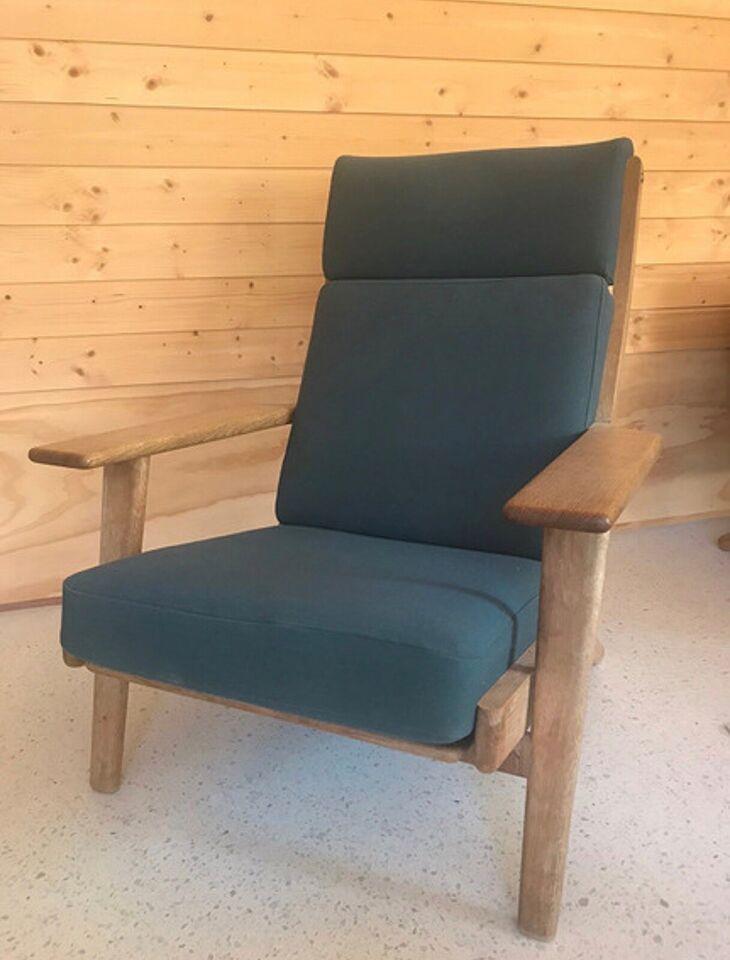 Lænestol, stof, Hans j. Wegner – dba.dk – Køb og Salg af Nyt