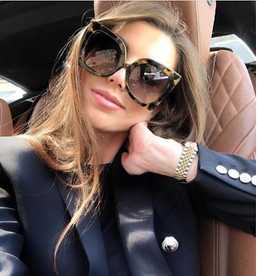 """Damen-accessoires Groß Überdimensional """" Jackie """" Schmetterling Damen Sonnenbrille Aviator Kleidung & Accessoires"""