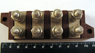1x 4pin Connector 3PS22-4 4 Position Terminal Blocks USSR Soviet Switch NEW