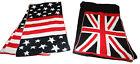 Sciarpa Spessa Qualità Uomo Donna Adolescenti Bandiere USA Union Jack Londra