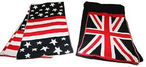 Echarpe-Epaisse-Qualite-Homme-Femme-Ados-Drapeaux-USA-Union-Jack-Londres