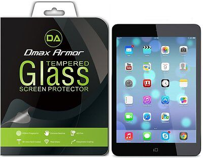 2x Dmax Armor for Apple iPad Mini 1 3 Tempered Glass Screen Protector 2