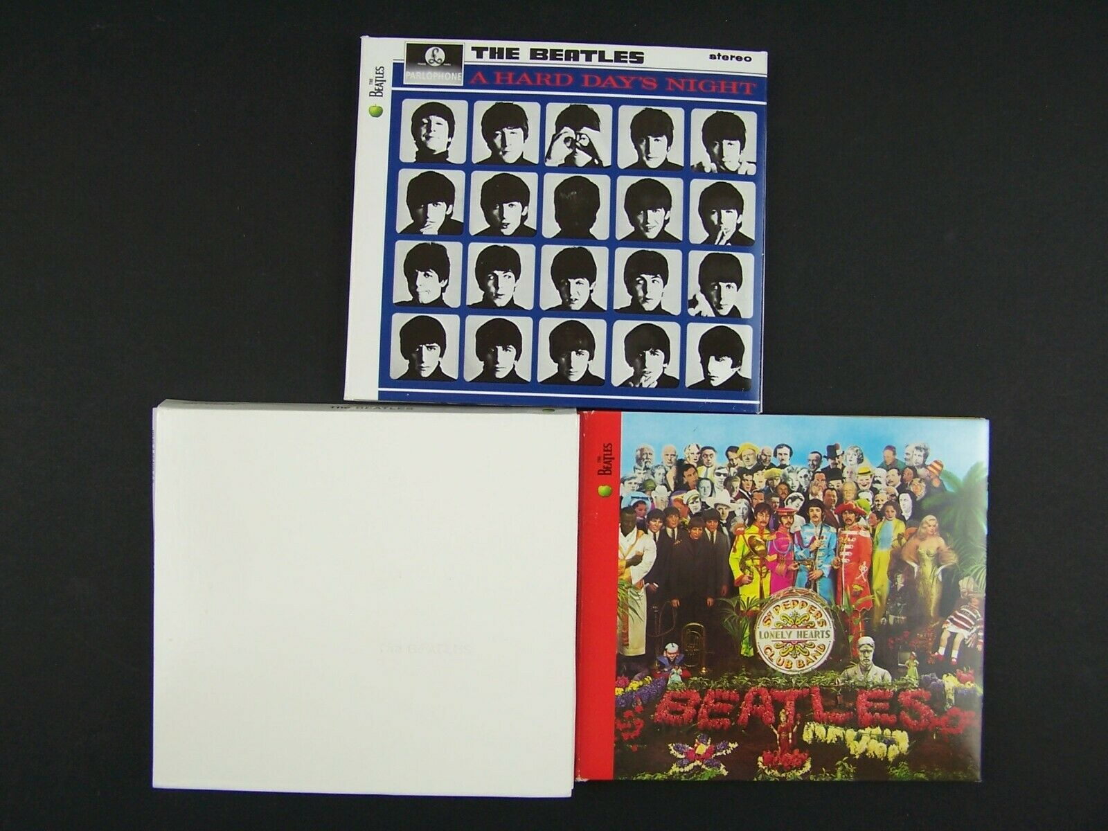 The Beatles 3xCD Digipak Lot #1