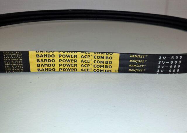 D/&D PowerDrive 3//B52 Banded V Belt