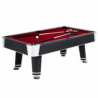 MD Sports 7-Foot Tournament-Style Arcade Game Room Billiard Table