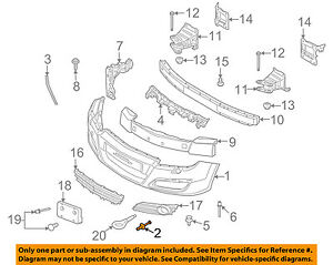 saturn gm oem 2008 astra front bumper bumper cover rivet 90508809 ebay saturn vue wiring-diagram image is loading saturn gm oem 2008 astra front bumper bumper