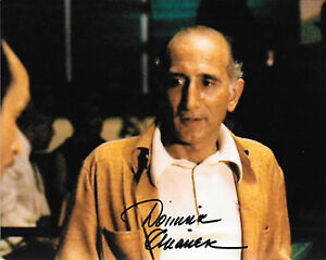 """DOMINIC CHIANESE GODFATHER II SIGNED AUTOGRAPHED 8"""" x 10 ..."""