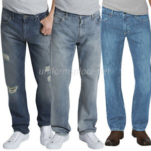 d62ec2b2 Dickies Jeans Mens X-Series Relaxed Fit Straight Leg 5-Pocket Denim ...