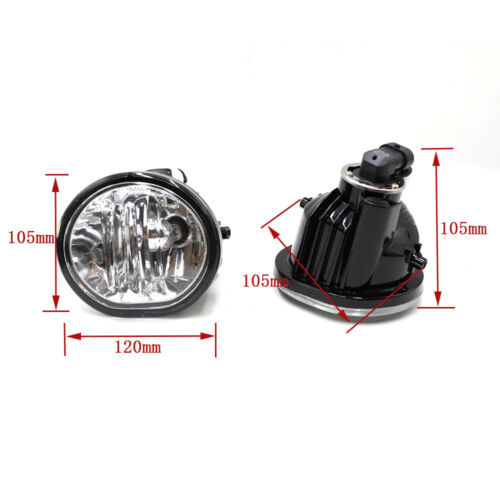 Fog Light Clear Lens Bumper Driving Lamps For 03-08 Toyota Matrix Pontiac Vibe