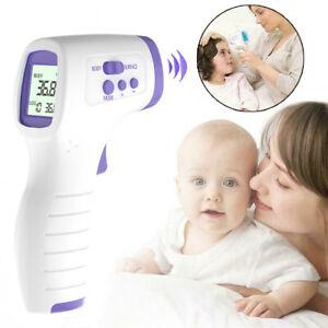 Termometro-a-infrarossi-Senza-contatto-LCD-digitale-Fronte-misuratore-di-tempera