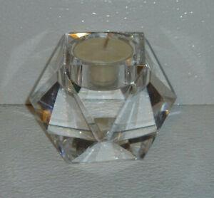 Rosenthal-Crystal-Candle-Holder-CARLYLE-Vtg-Votive-2-5-034