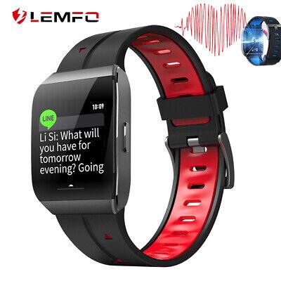 LEMFO Smart Watch Wristband Men Women Heart Rate Waterproof Bracelet For Mi Band
