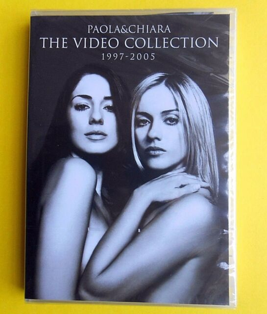 paola e chiara paola & chiara the video collection 1997-2005 dvd 2005 sigillato