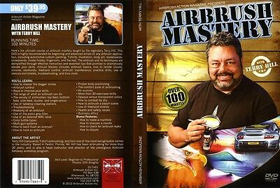 Airbrush Action DVD - Airbrush Mastery with Terry Hill