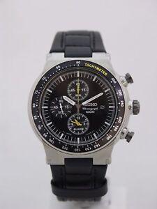 Seiko men watch chronograph SNAA49