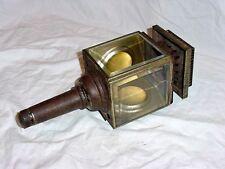 Vintage Antique Carriage Coach Buggy Cowl Kerosene Oil Lamp Light