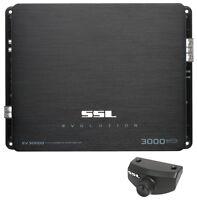 Ssl Soundstorm Ev3000d 3000w Mono D Car Audio Amplifier Power Amp Mosfet on sale
