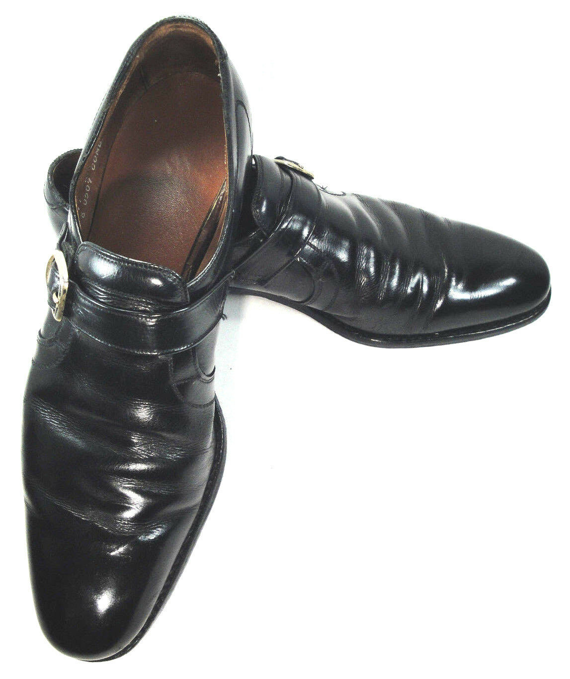 Allen Edmonds Black Oxford Loafer with 11AAA a  Buckle size 11AAA with Business Work 3454bd