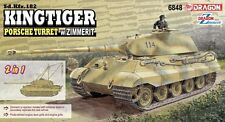 1/35 Dragon Sd.Kfz.182 Kingtiger Porsche Turret w/Zimmerit (2 in 1) #6848