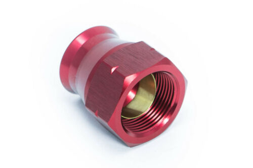 "3//8/"" male Blau//Rot 9//16-18UNF Alu-Fitting für Rohrleitung 9,5mm AN6 JIC6"